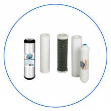 Sada filtračných vložiek pre reverznú osmózu RO 5