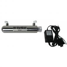 Aquazone S1 - Nerezová UV lampa s transformátorom 0,5 GPM pre RO systémy